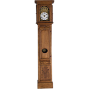 19th c. French Tall Case Clock or Comtoise