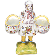 French Faience of Desvres Double Salt