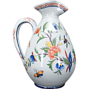 French Faience of Desvres Pitcher