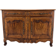 19th Century French Louis XV Style Buffet or Sideboard