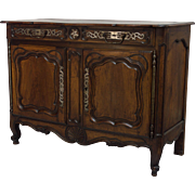 19th c. Louis XV Style Provencal Buffet
