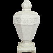 French Art Deco Marble Garden Sculpture