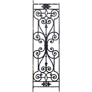 19th c. French Wrought Iron