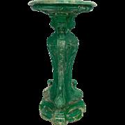 19th c. French Cast Iron Bird Bath