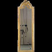 19th Century French Louis XVI Style Beveled Mirror