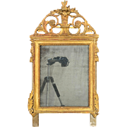 19th c. Louis XVI Style Gilded Mirror