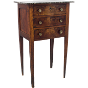 19th c. French Country Side Table