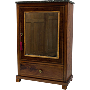 French Louis Philippe Style Miniature Armoire