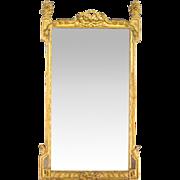 French Louis XVI Style Gilded Mirror