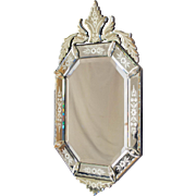 19th c. Napoleon III Venetian Mirror
