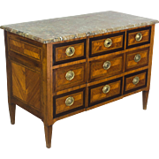18th c. Louis XVI Commode or Chest of Drawers