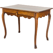18th C. French Louis XV Side Table or Desk