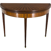 Louis XVI Style Console Game Table