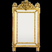 19th Century Napoleon III Gilt Mirror