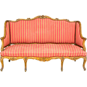 19th Century Louis XV Style Sofa or Canape