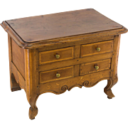 19th C. French Louis XV Style Miniature Commode
