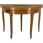 19th c. Louis XV Console Game Table