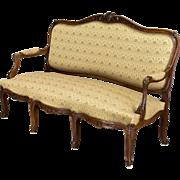 19th Century Louis XV Style Sofa or Canape
