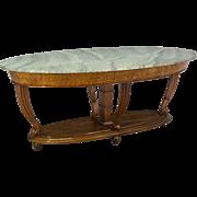 Italian Marble Top Center Table