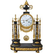 19th Century French Louis XVI Mantel Clock