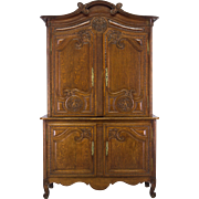19th Century French Buffet a Deux Corps