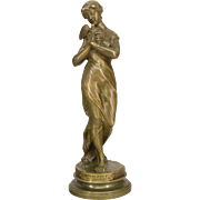 19th Century French Bronze by Emile LaPorte