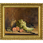 Pair of French Still Life Paintings