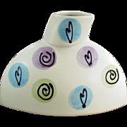 Old, Amano, Art Pottery Bust Vase - Classy Decorator Piece
