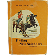 1961 School Book - Finding New Neighbors
