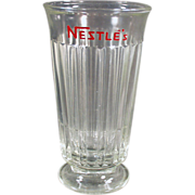 Old, Nestle's Advertising Soda or Malt Glass
