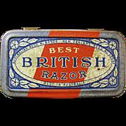 Old, Best British, Razor Tin - No Razor