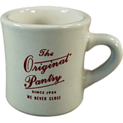 Old, Advertising, Restaurant China - The Original Pantry