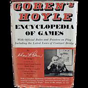 Old, Encyclopedia of Games - 1961 Hardbound by Goren