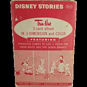 Old, Tru-Vue 3-Dimensional Slides - Disney Stories