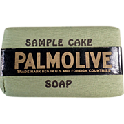 Old, Palmolive Soap, Sample Bar