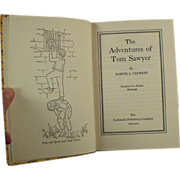 Old, Tom Sawyer Book by Samuel Clemens
