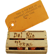 Old, Promotional Mailer - Texas Orange Crate