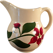 Old, Watt Pottery, #15 Starflower Creamer