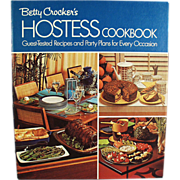 Old, Betty Crocker, Hostess Cook Book - 1970's