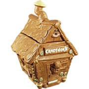 Old, Candy House Cookie Jar by Twin Winton