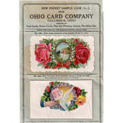 Old, Sample Packet from Ohio Card Company
