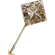 Old Stickpin - Decorative Geometric Design