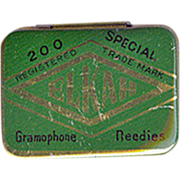 "Old, Needle Tin - ""Elkah Gramophone Needles"""
