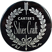 Old, Typewriter Ribbon Tin - Carter's Silver Craft