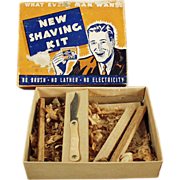"Old Gag Gift - ""Shaving Kit"" Souvenir Mailer"