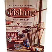 Old Reference Book - McClane's Standard Fishing Encyclopedia - Hardbound Edition