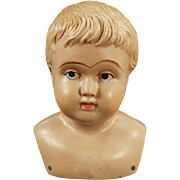 Old, Celluloid Shoulder Head Doll - American Mark, Indian Logo