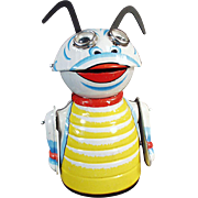 Old, Marx Wind-up Toy, Moon Creature Robot