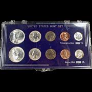 United States Mint Set - 1964 Philadelphia & Denver - 10 Coins Total
