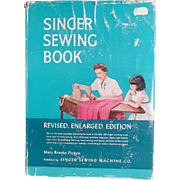 SOLD Sewing Reference Book from The Singer Company